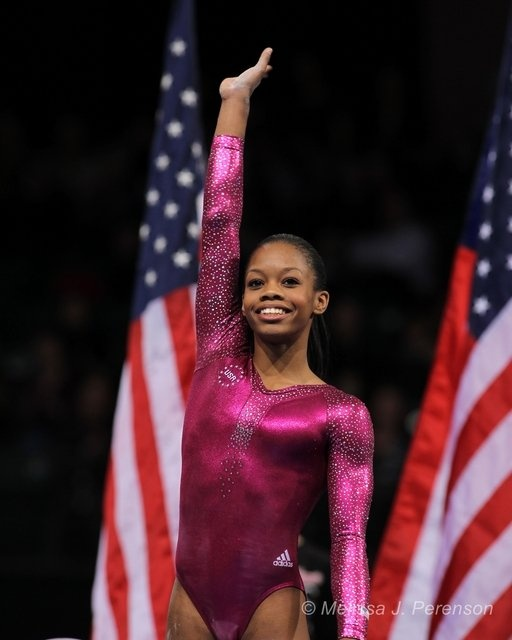 Gabby Douglas Wins All Around Gold