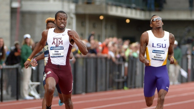 Deon Lendore and Vernon Norwood will square off in the 4x400m this weekend