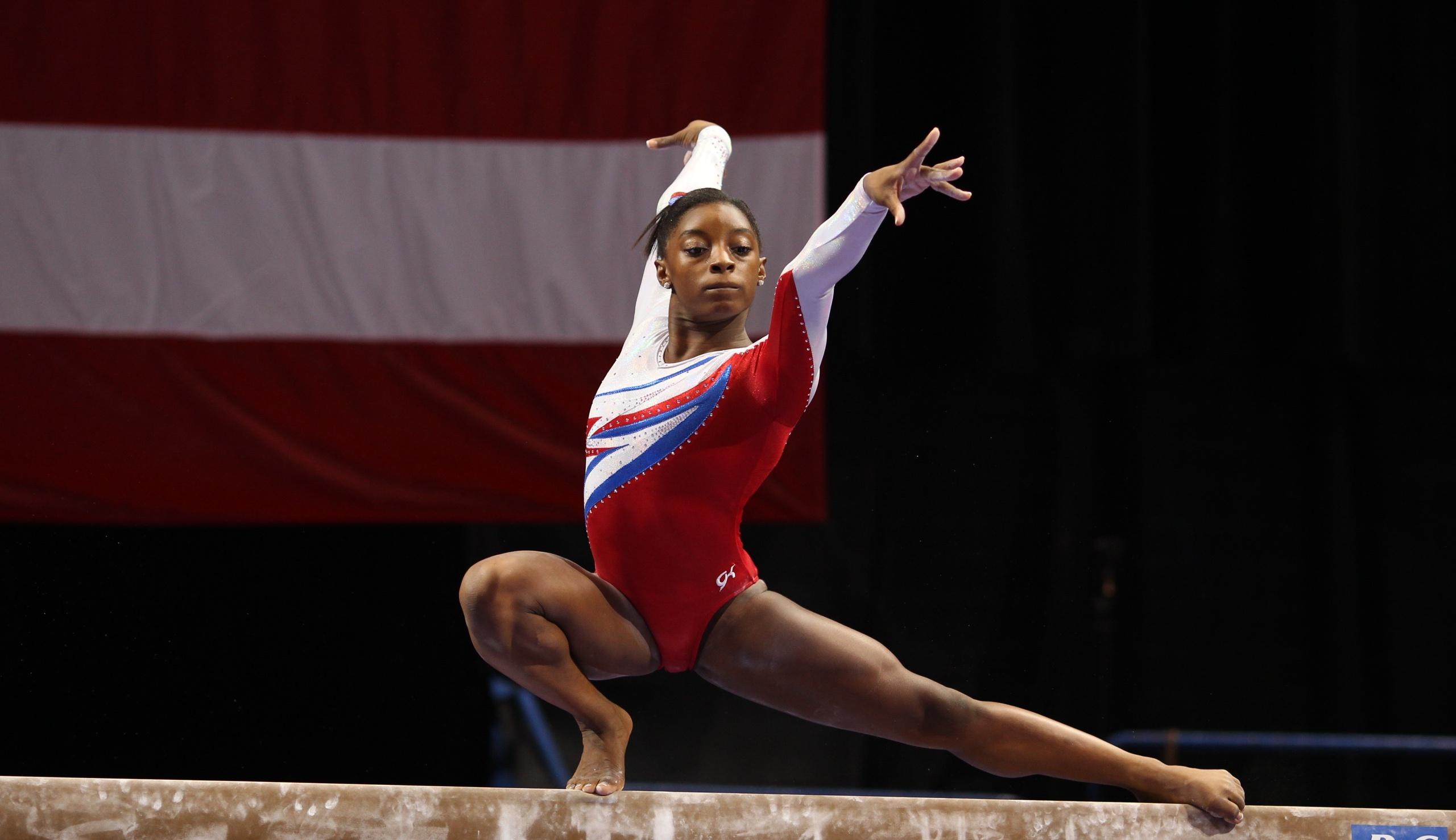 Gymnast The Week Simone Biles