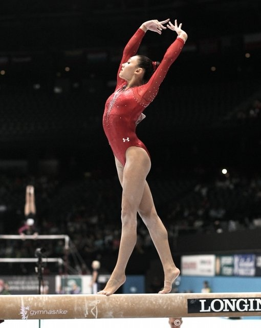 What are some good closing sentences about an essay about gymnastics