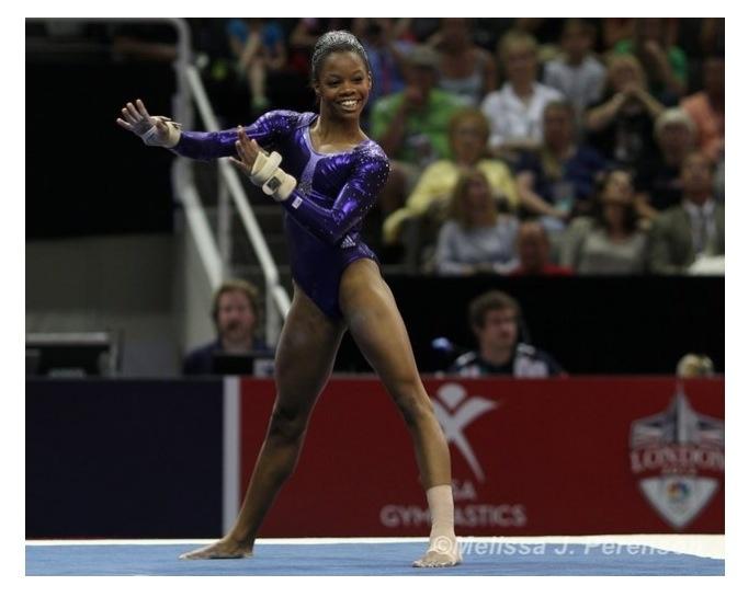 Gabby Douglas Splits with Liang Chow | FloGymnastics