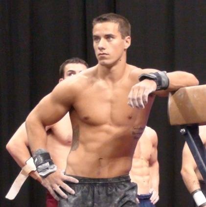 Gymnast Jake Dalton USA