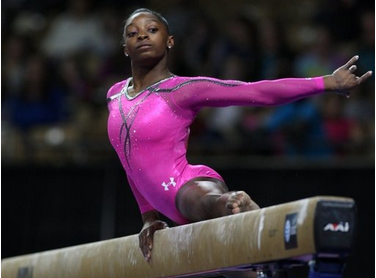 "Italian Gymnast's Racist Remark: ""I Need To Paint My Skin Black To ...simone biles"