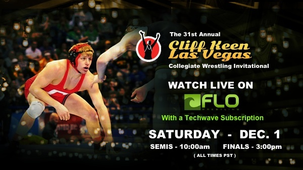 Sign up for Techwave and watch the Live feed of Cliff Keen Vegas Invitational