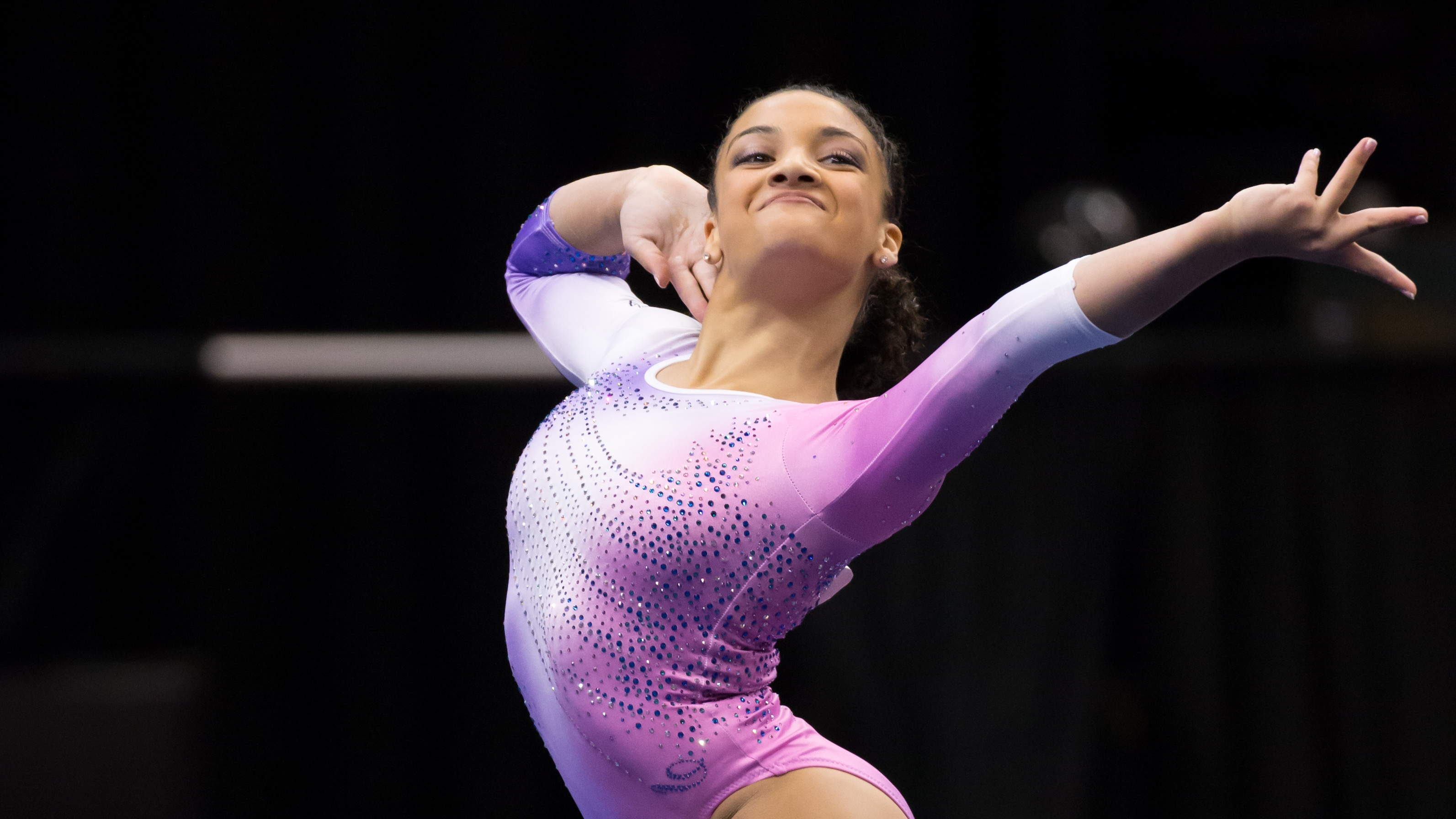 Results Laurie Hernandez Grabs The Junior National Title