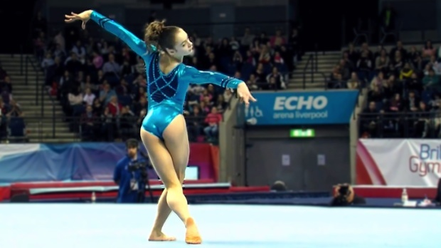 Claudia Fragapane And Catherine Lyons Floor Routines From