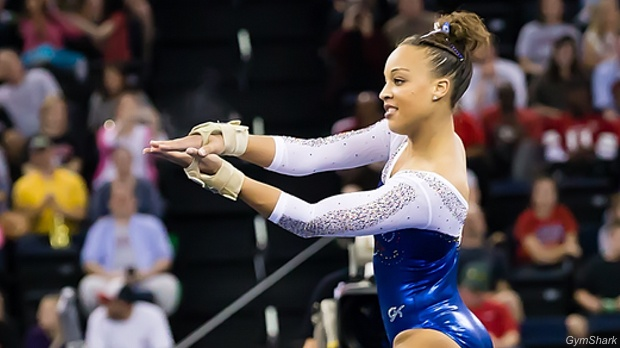Here Is Our Last Installment In Routines To Watch For At NCAA Championships  This Weekend. This Time We Are Focusing On Floor, Looking At Impressive  Tumbling ...